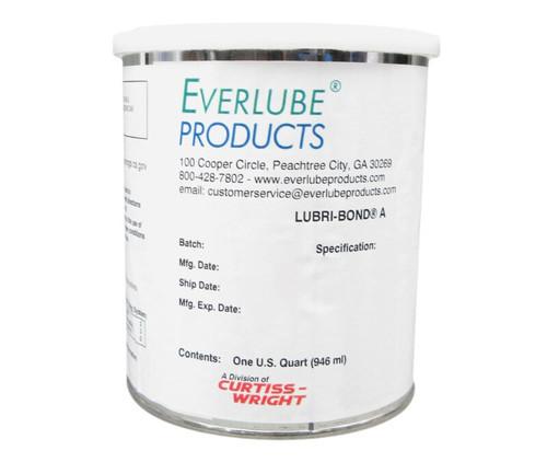 Everlube® Lubri-Bond® A Gray/Black Everlube® Standard Spec Air Dry MoS2/Graphite Solid Film Lubricant - Quart Can