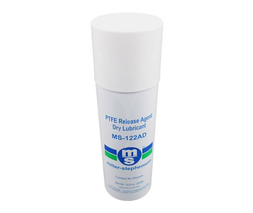 Miller-Stephenson MS-122AD PTFE Release Agent Dry Lubricant - 14 oz Aerosol Can