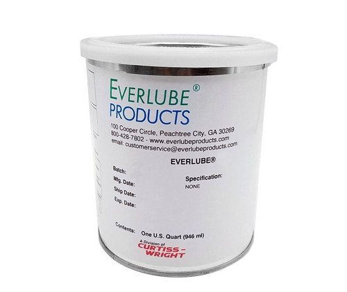 Everlube® Lube-Lok® 1000 40% Concentrate Gray/Black Everlube® Standard Spec Vitreous Bonded High-Temperature Solid Film Lubricant - Quart Can