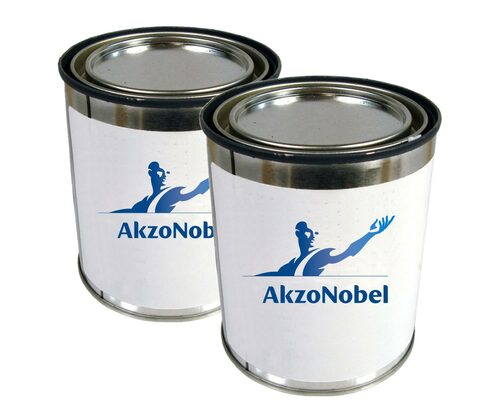 AkzoNobel 646-58-1350/X-501 FS#11350 Red MIL-PRF-85285E Type I, Class H Spec Chemical Resistant Military Polyurethane Topcoat - 2 Gallon Kit