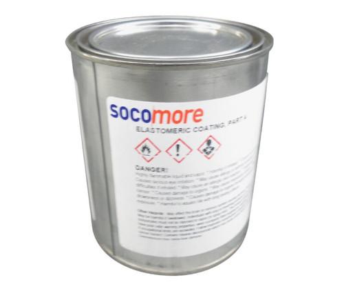 AEROGLAZE® M1433 Gray Part-A Elastomeric Coating - Quart Can