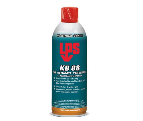 LPS 3® 02316 KB-88 Clear/Red The Ultimate Penetrant Lubricant - 13 oz Aerosol Can