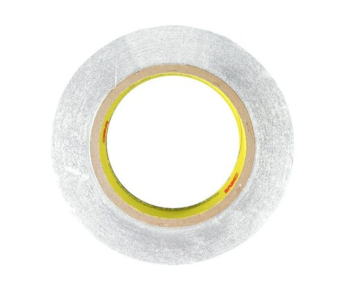 """3M™ 051125-85309 Silver 425 Aluminum 4.6 Mil Foil Tape - 3/4"""" x 60 Yard Roll"""