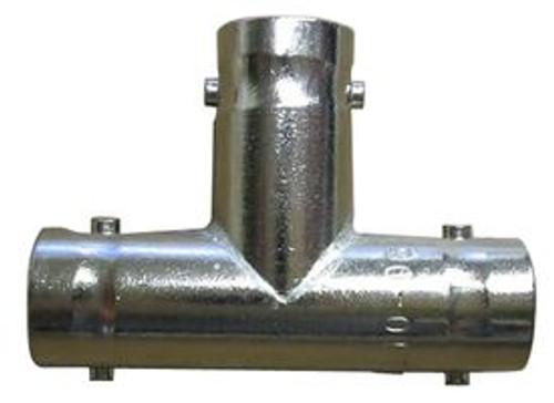 TE Connectivity 221988-1 Brass/Silver Jack (Female) - Jack (Female) -Jack (Female) BNC Tee Adapter