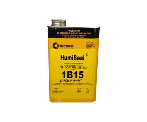 HumiSeal® 1B15 Clear Acrylic Conformal Coating - Liter Can