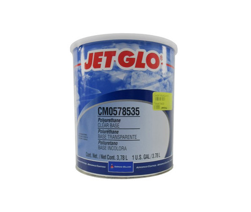 Sherwin-Williams® CM0578535 JET GLO® Clear Polyester Urethane Topcoat Paint Base - Gallon Can