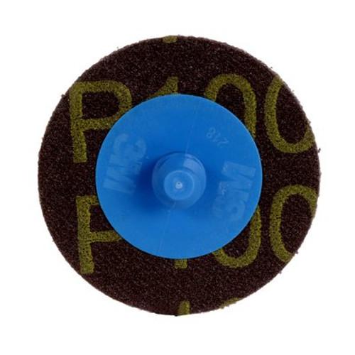 """3M™ 051144-22402 Roloc™ 361F Blue 2"""" P100 YF-weight TR Die R200P Disc"""