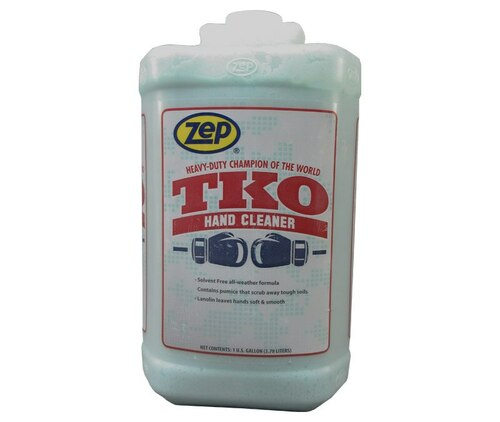 ZEP® R548 TKO™ Blue-Green Lemon Industrial Hand Cleaner with Scrubbing Beads - Gallon Jug