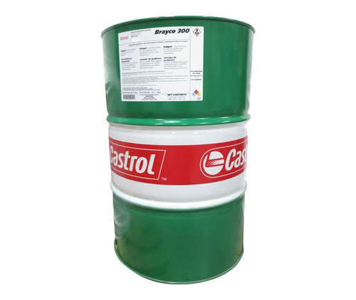 Castrol® Brayco™ 300 Amber MIL-PRF-32033A Type I Class 1 Spec Low Temperature Water Displacing General-Purpose Preservative - 55 Gallon Steel Drum
