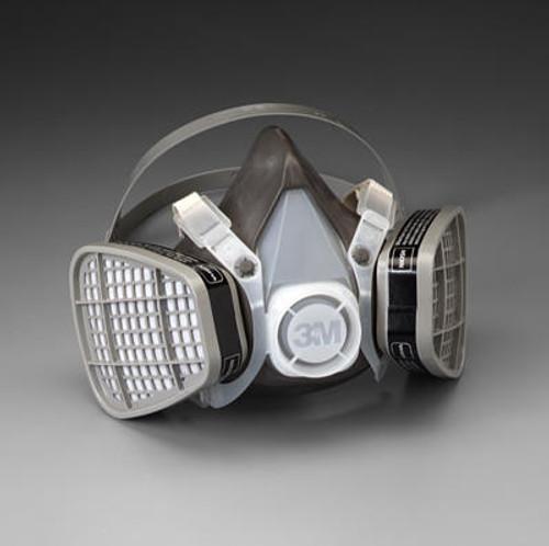 3M™ 051138-21577 Gray 5301 Large Organic Vapors Half Facepiece Respirator