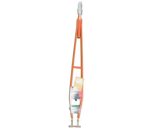 "Brackett TR-34R Orange 7' 8"" to 8'-8"" Telescoping Length 14,000 lbs. Capacity Universal Towbar with Ring Hitch"