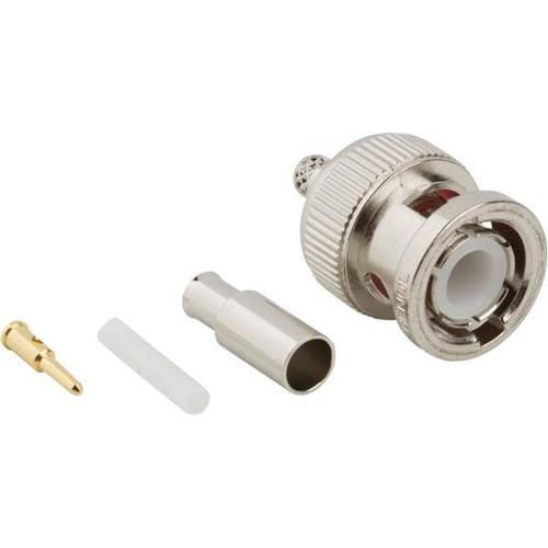 Amphenol RF 31-315 Brass/Nickle BNC RG-174, RG-188 & RG-316 Crimp Style Straight Connector, Plug, Electrical
