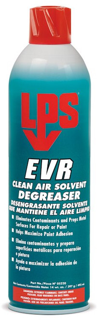 LPS® 05220 EVR Clean Air Solvent Degreaser 14 oz Aerosol Can