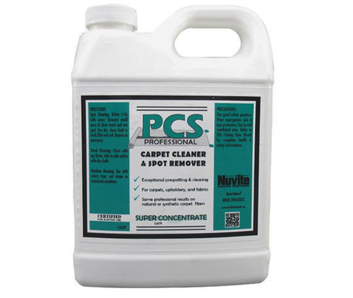 Nuvite PC22101QT PCS Professional Aircraft Carpet Shampoo & Spot Remover - Quart Bottle