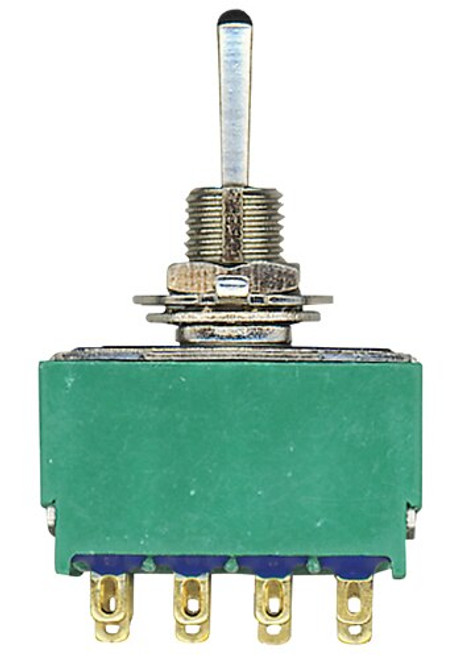 TE Connectivity 315719208 3-1571920-8 - 4pdt Toggle Switch