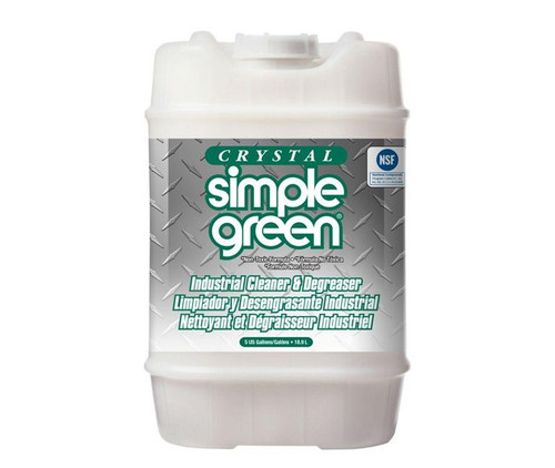 Crystal Simple Green® 19005 All-Purpose Industrial Cleaner & Degreaser - 18.9 Liter (5 Gallon) Pail