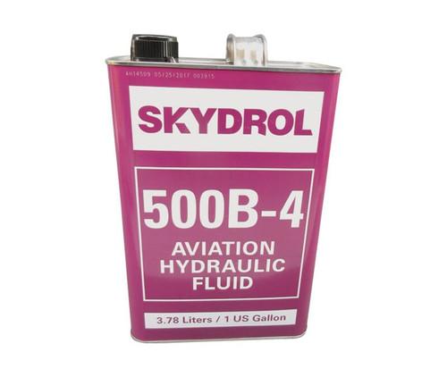 Eastman™ Skydrol® 500B-4 Purple BMS3-11P Type IV, Class 2 Spec Fire Resistant Hydraulic Fluid - 9.11 Kg (Gallon) Can