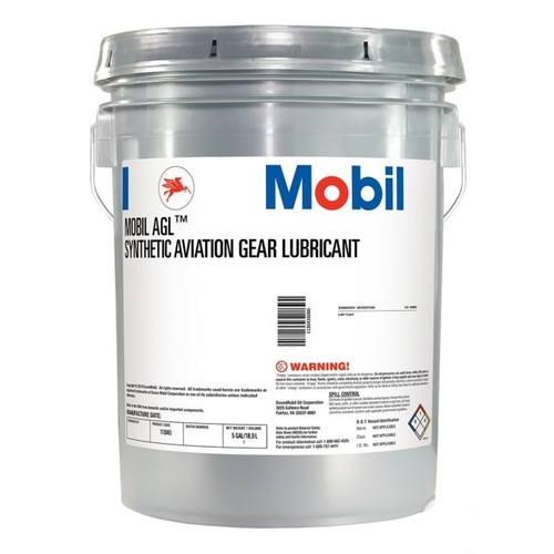 Mobil™ AGL Synthetic Aviation Gear Lubricant - 5 Gallon Pail