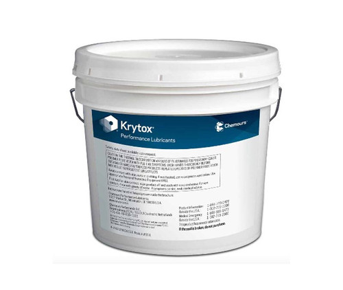 Chemours™ Krytox™ GPL 206 White PTFE Thickened Standard General-Purpose Grease - 20 Kg Pail