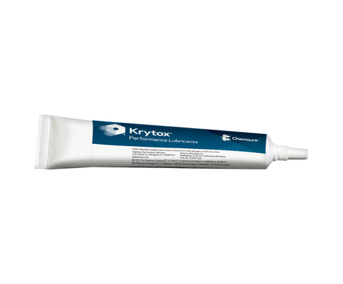 Chemours™ Krytox™ GPL 225 White Anti-Corrosion General-Purpose Grease - 8 oz Tube