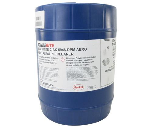 Henkel 597211 BONDERITE® C-AK 5948-DPM AERO Alkaline Aircraft Cleaner - 5 Gallon Closed Head Pail with Bung