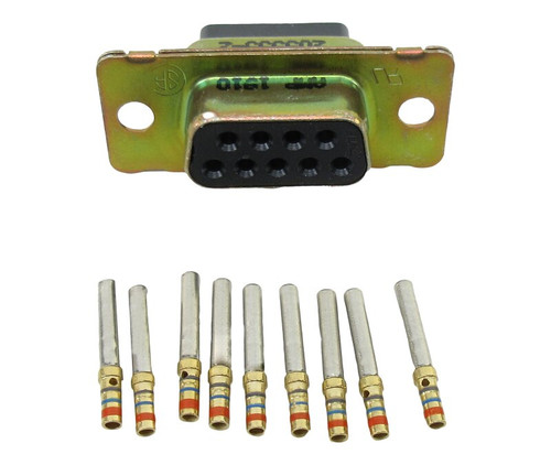 Military Specification M24308/2-1F Connector, Receptacle, Electrical