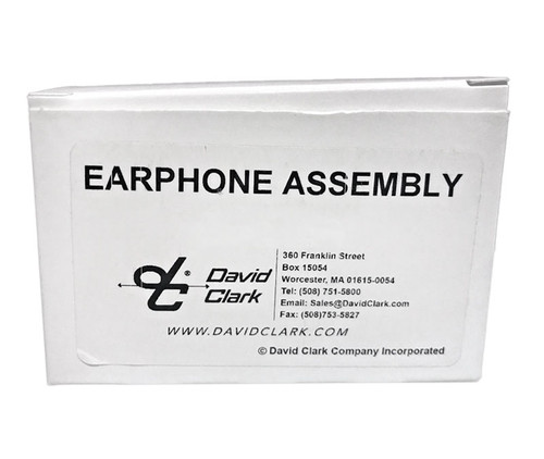 David Clark 10376G-29 Earphone Assembly With Retainer
