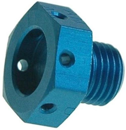 Aerospace Standard AS5169D03L Aluminum Drilled Head Plug, Machine Thread