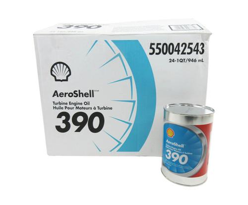 AeroShell™ Turbine Oil 390 Synthetic Diester Turbine Engine Oil - 24 Quart/Case