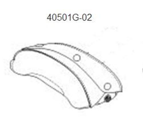 David Clark 40501G-02 Headpad, Stretching