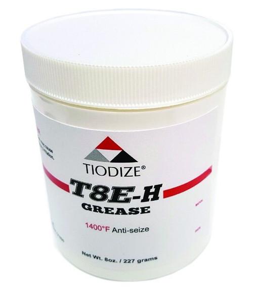 TIODIZE® T8E-H Gray GE A50TF201/Safran DMR75-905 Spec 1400°F Anti-Seize Grease - 227 Gram (8 oz) Jar