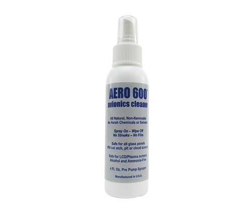 Aero 600™ Avionics Cleaner - 4 oz Pump Spray Bottle