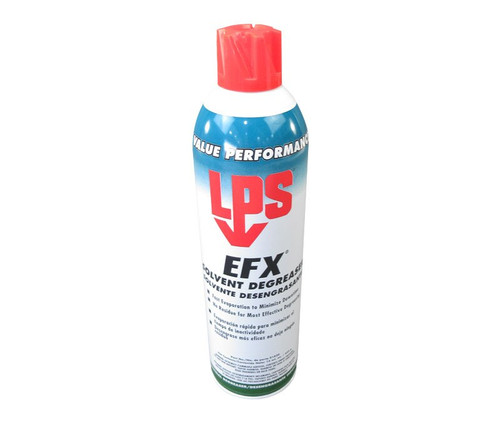 LPS 3® 01820 EFX Clear Solvent Degreaser - 15 oz Aerosol Can