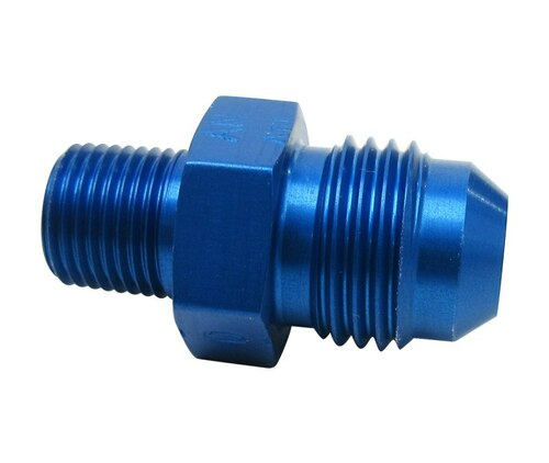Aeronautical Standard AN816-6-2D Aluminum Pipe to Tube Straight Adapter