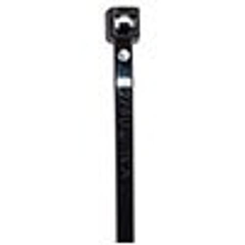 """HellermannTyton T50S-0 Cable Tie - Black - 6.5"""" - 50lb"""
