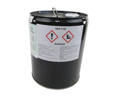 Vantage B&B™ 3100 Brown MIL-C-85704C Type I Spec Concentrate Gas Path, Compressor & Fuel Nozzle Turbine Engine Cleaning Compound - 5 Gallon Steel Pail