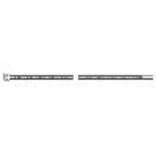 """HellermannTyton T30L9M4 Cable Tie - Natural - 7.5"""" - 30lb"""