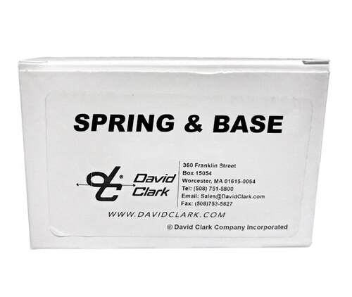 David Clark 22608G-01 Spring & Base Kit