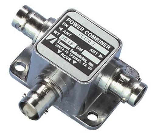 Cobham Comant CI-120-3 Power Combiner Vog - GS - 108-118 Mhz - 329-335 Mhz - 50 Ohms - BNC Female Connector