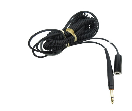 David Clark 18874G-01 Model C31-26 Black 26' Coil Cord GSE Headset Extension