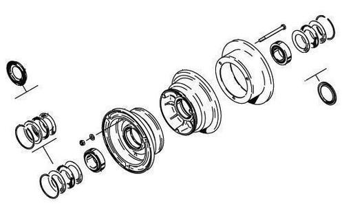 Cleveland Wheel & Brake 40-84A Wheel Assembly
