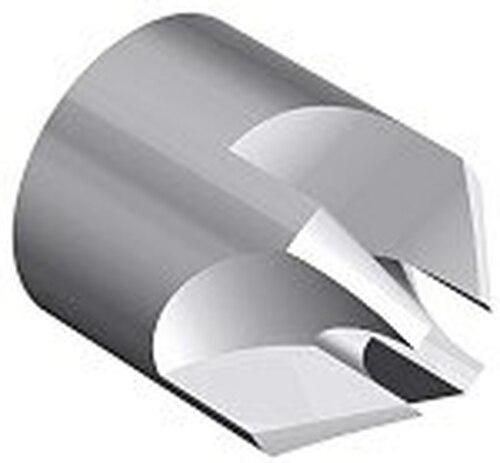 "ATI® Tools ATI402Q-4 HSS 3/4"" OD & 1/4"" Pilot Hole 100° Back Countersink"