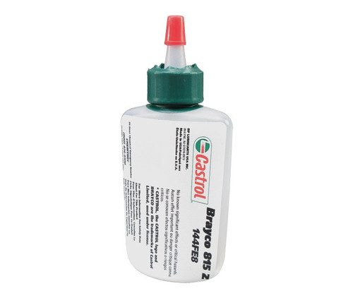 Castrol® Brayco™ 815 Z Clear Wide Temperature Range Perfluorinated Polyether Lubricating Oil - 2 oz (AVDP) Bottle