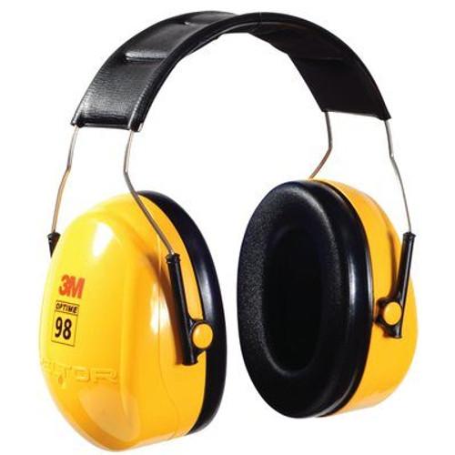 3M™ H9A PELTOR™ Optime™ 95 Yellow 25 db Over-the-Head Earmuff