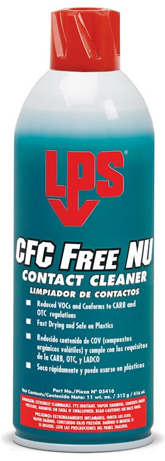 LPS 3® 05416 CFC Free NU Contact Cleaner - 11 oz Aerosol Can