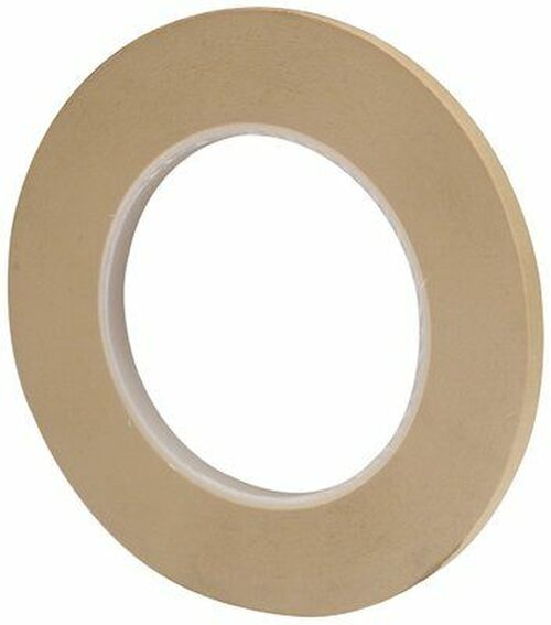 3M™ 021200-06340 Scotch® 233 Tan Automotive Refinish Masking/Painter's Tape - 48 mm x 55 m Roll