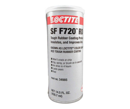 Henkel 338130 LOCTITE® Color Guard® Red Tough Rubber Coating - 14.5 oz Can
