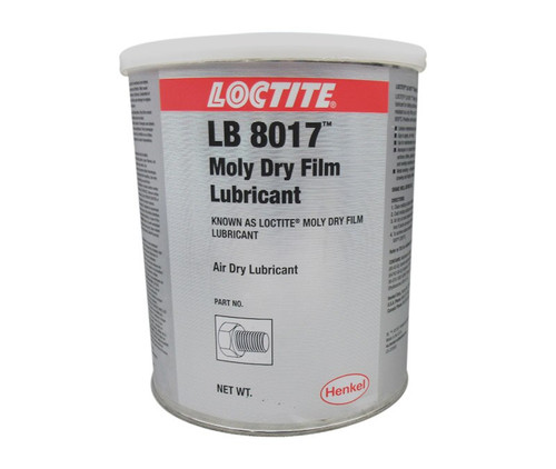 Henkel 39897 LOCTITE® LB 8017™ Gray Moly Dry Film Lubricant - 4.5 Kg (10 lbs) Can