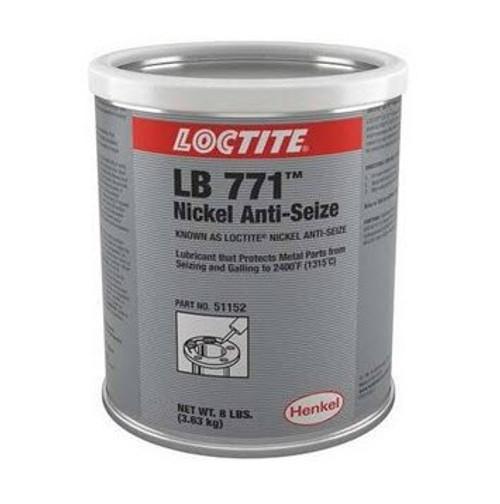 Henkel 51152 LOCTITE® LB 771™ Nickel Anti-Seize Compound - 3.83 Kg (8 lb) Can