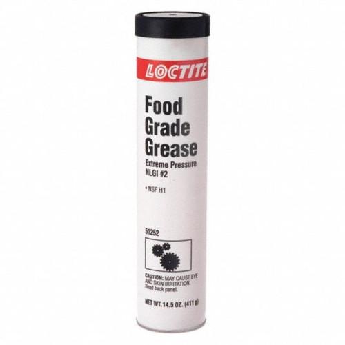 Henkel 51252 LOCTITE® LB 8104™ Extreme Pressure NLGI#2 Food Grade Grease - 411 Gram (14.5 oz) Cartridge